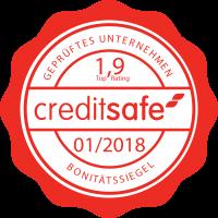 Creditsafe Bonitätssiegel 1,9_01_2018