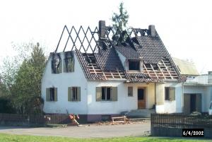 Sanierungen nach Brandschäden